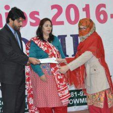 BEEF Scholarship Ceremony at Sardar Bahadur Khan Women University