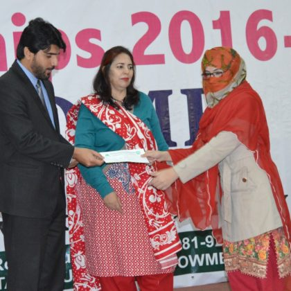 BEEF Scholarship Ceremony at Sardar Bahadur Khan Women University