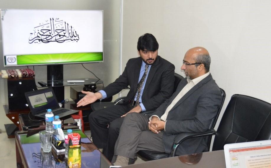 Briefing Mr.Noor ul Haq Baloch