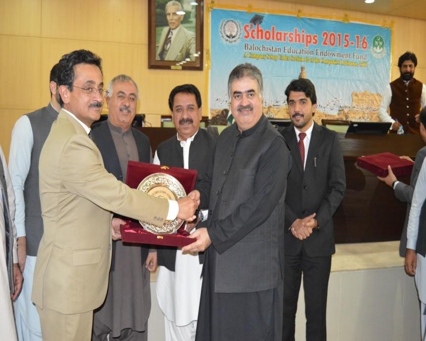 Honorable Chief Minister Balochistan (Nawab SANA ULLAH ZEHRI)