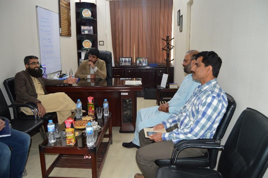 CEO BEEF (Dr.Rasheed Masood Khan) along with Company Secretary