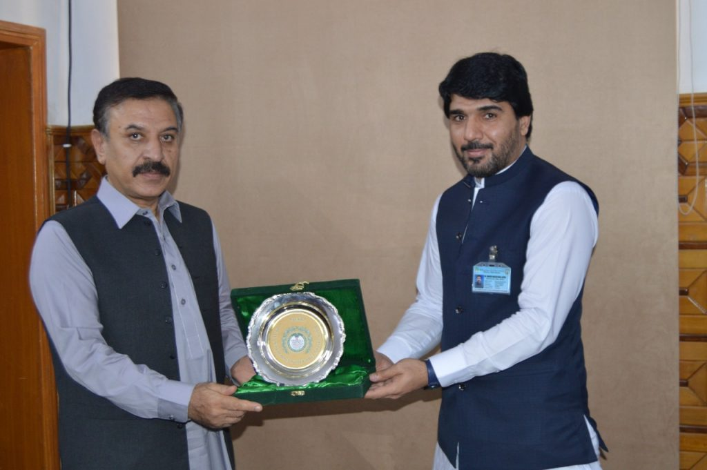 Official visit of Secretary, Finance Government of Balochistan.